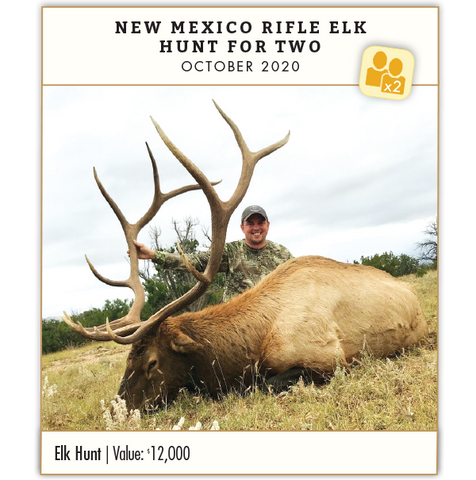 Gold Prize: New Mexico Rifle Elk Hunt for Two