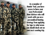 Three-Year Huntin' Fool Membership