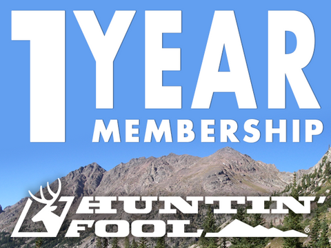 One-Year Huntin' Fool Membership