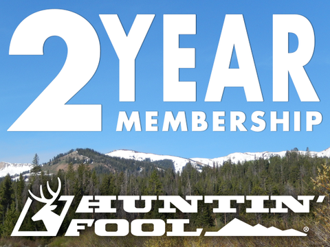 Two-Year Huntin' Fool Membership