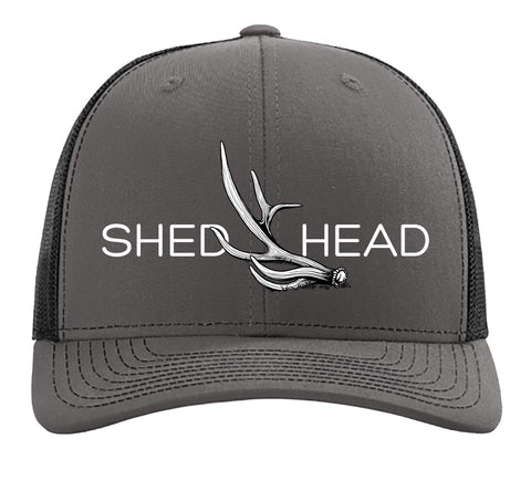 Shed Head Charcoal & Black Elk Hat