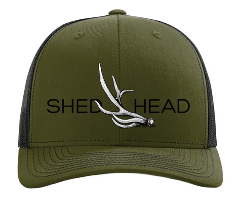 Shed Head Loden & Black Elk Hat