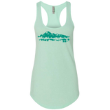 Women's Mint Mountains Tank