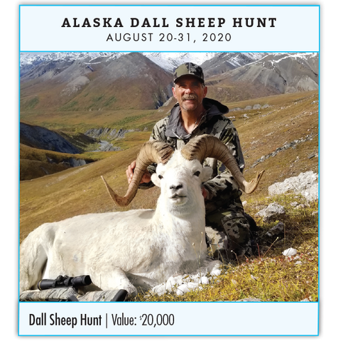Platinum Prize: Alaska Dall Sheep Hunt