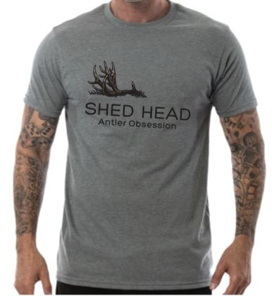 Shed Head 1 Antler Grey Deer Shirt