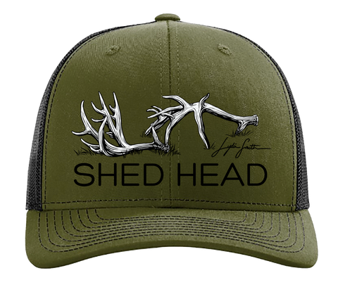 Shed Head Loden & Black Hat