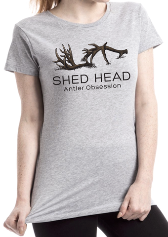 Shed Head Women's Grey Logo Shirt