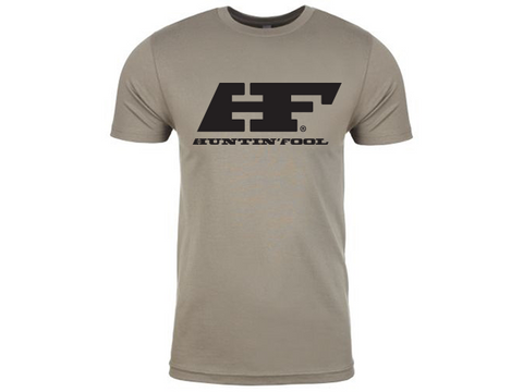 Warm Gray HF Logo Shirt