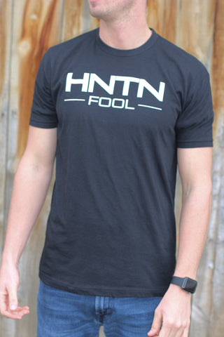 Men's Black HNTN Fool Shirt