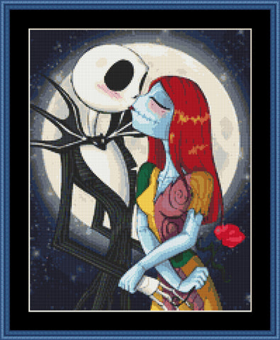 Nightmare Before Christmas Cross Stitch Kit Crossstitchkingdom