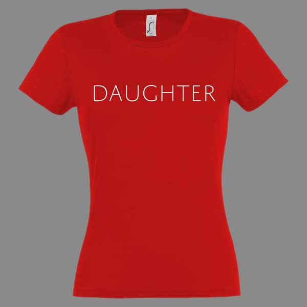 Ladies Logo Red T-Shirt