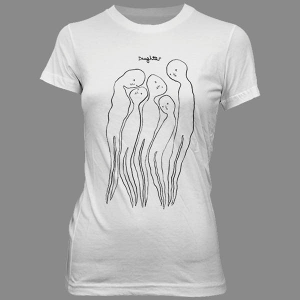LADIES GHOSTS JUNIOR WHITE TSHIRT