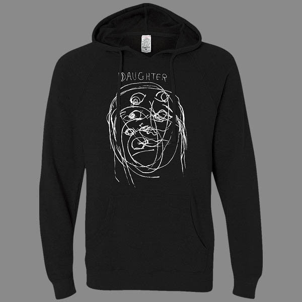 UNISEX FACES BLACK PULL ON HOODIE