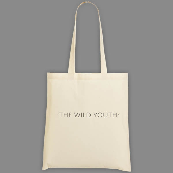 WILD YOUTH LOGO TOTE BAG