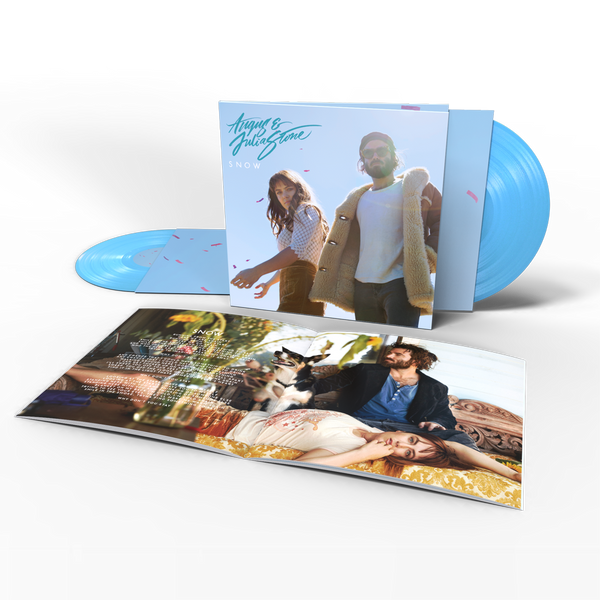 Snow Double Blue Vinyl