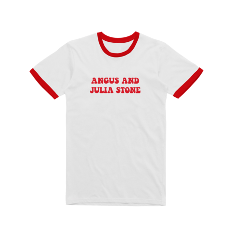 Angus and Julia / Red Ringer T-shirt