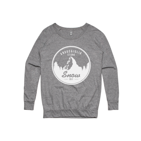 Snow Mountain / Womens Grey Crew