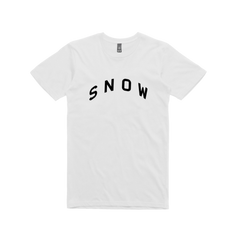 Snow / White T-shirt