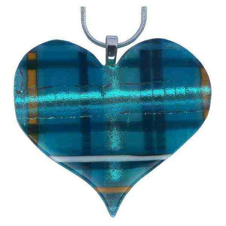 Alicia MacInnes Fused Glass Jewellery Skye Tartan stockist The Old School Beauly
