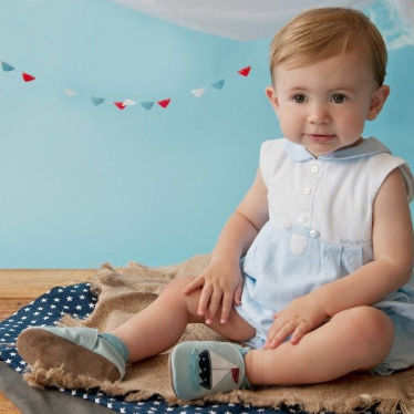 Baby Booties stockist The Old School Beauly