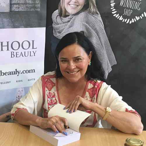 Diana Gabaldon Book singing at the Old School, High Street, Beauly, IV4 7BX, Scotland