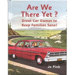Are We there Yet - a book which suggests lots of travelling games for the family to play. Super gift for travelling families!
