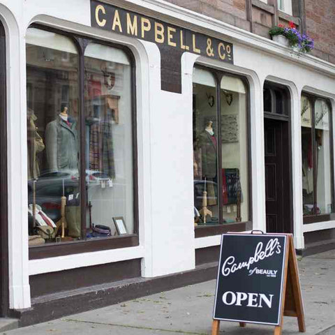 Campbells Of Beauly Tweed House shop front