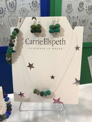 Carrie Elspeth Jewellery Green selection