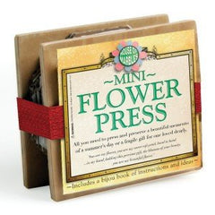 Mini flower Press to encourage children to learn the craft of flower pressing.