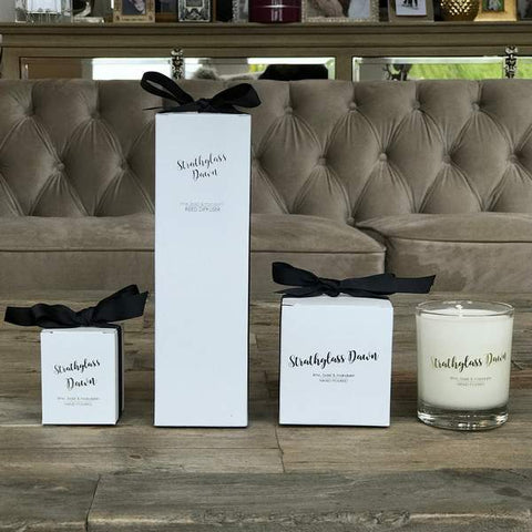 Strathglass Dawn Old School Beauly Candles and Reed Diffusers