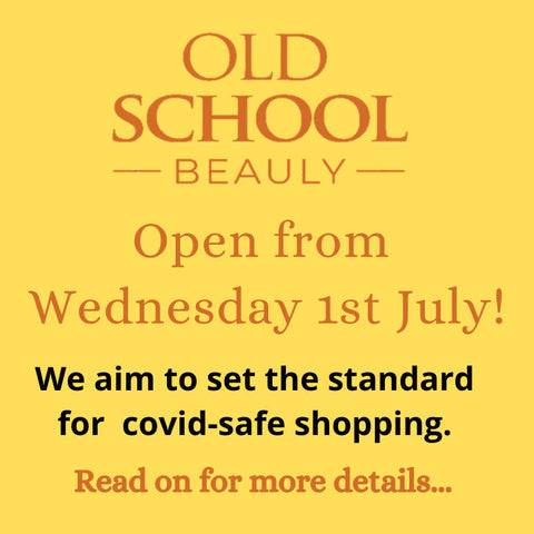Old School Beauly reopens 1st July
