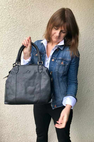 Large Sultan of Rowalln Leather Handbag
