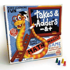 Takes And Adders Board Game