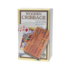 Mini Cribbage. Traditional game of cribbage. Perfect as a stocking filler.