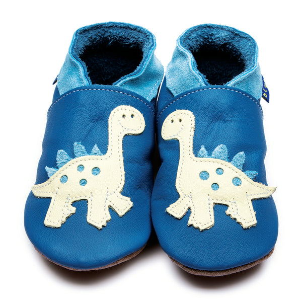 Dino Blue/Buttermilk Booties