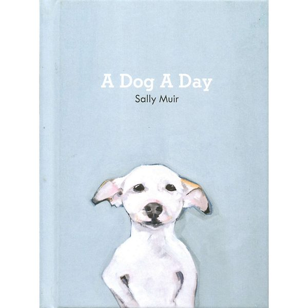 A Dog A Day by Sally Muir front cover