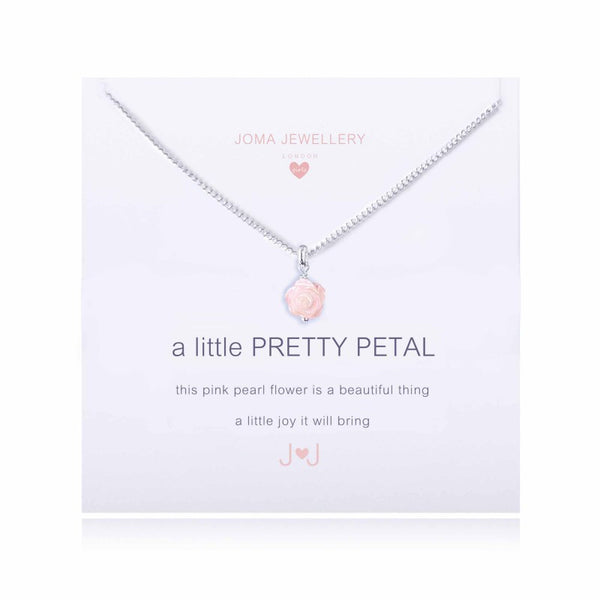 A Little Pretty Petal necklace