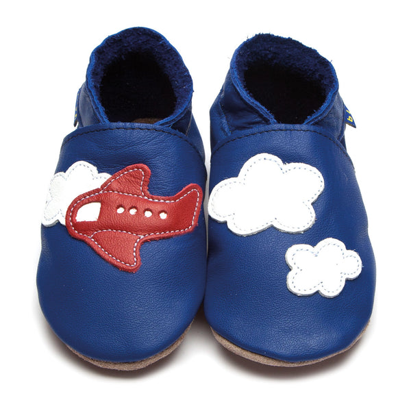 Aeroplane Clouds Booties