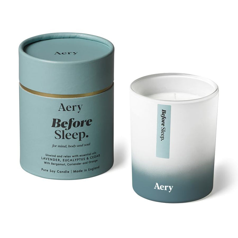 Aery Aromatherapy Scented Candle Before Sleep AE0003 main