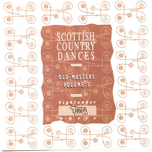 Old Masters Vol 1 - Scottish Country Dance CD by Alex MacArthur and his band