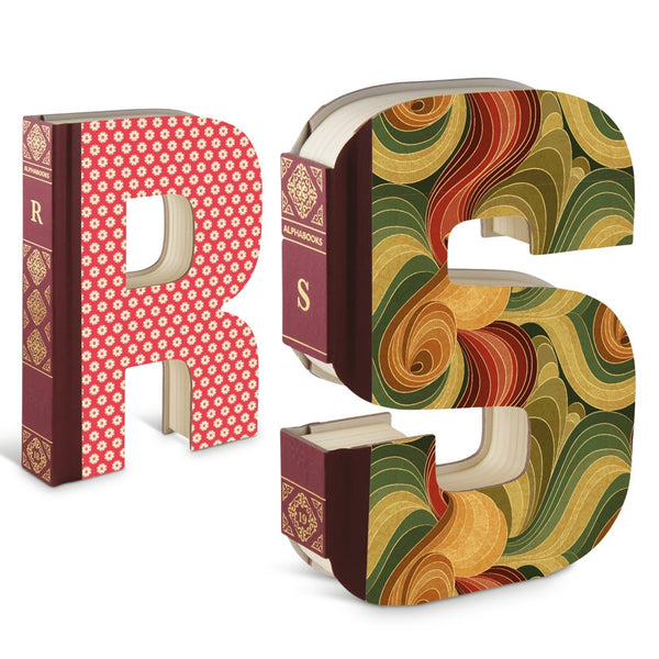 Alphabooks - Letter Shaped Notebooks R & S