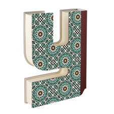 Alphabooks - Letter Shaped Notebooks - Y
