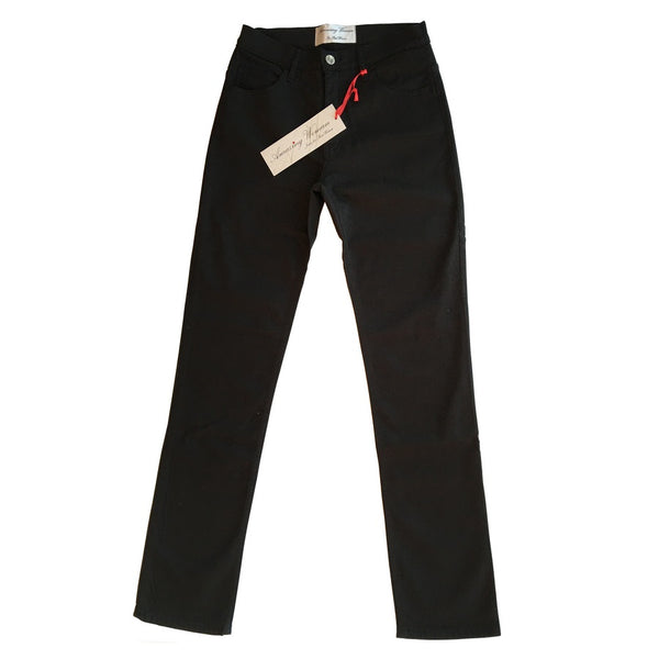 Amazing Woman Guapa Black High Rise Straight Mid Leg Jeans main