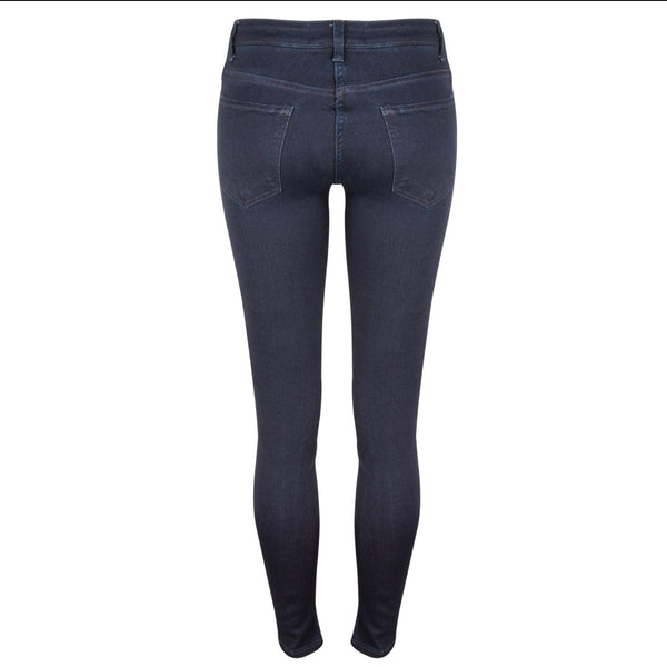 Amazing Woman Guapa Indigo Mid Rise Ankle Jean back