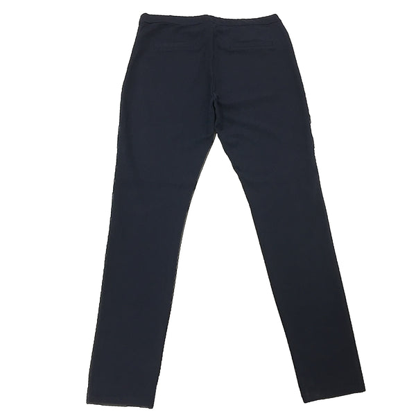 Part Two Ananna Faux Leather Trouser Blue Graphite back
