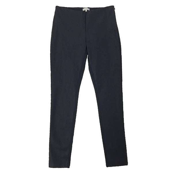 Part Two Ananna Faux Leather Trouser Blue Graphite front