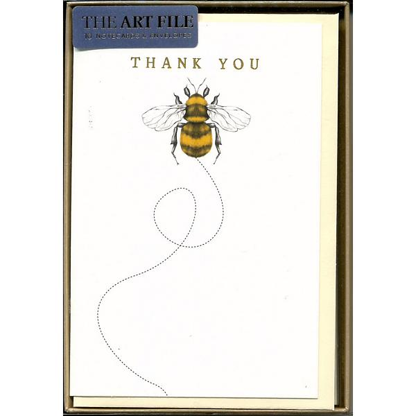 Bumble Bee Thank You Notecards
