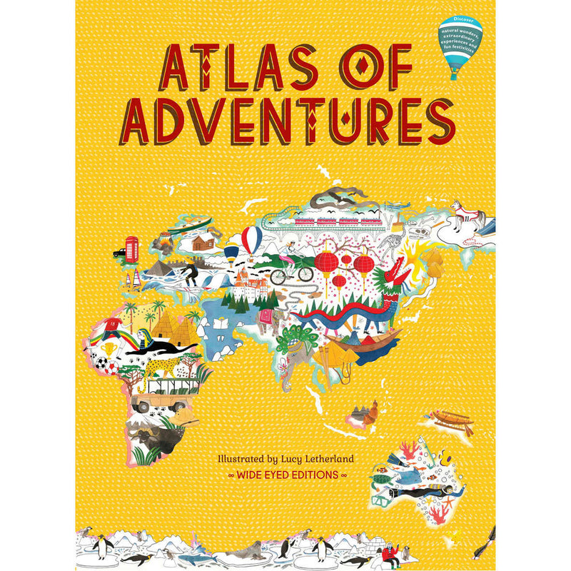 Atlas Of Adventures book front cover