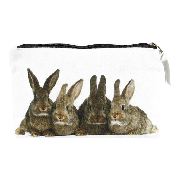 Baby Rabbits Make-Up Bag GKMTBK front