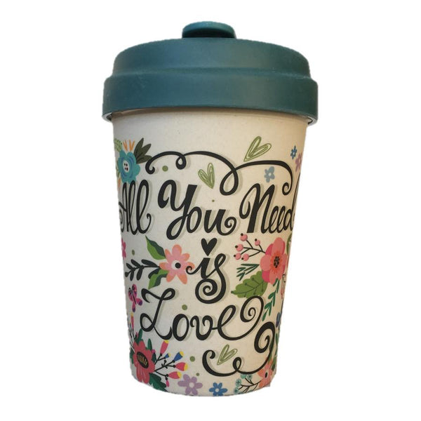 Bamboo Cup All You Need Is Love front